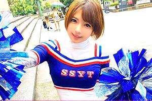 【ナンパTV】麻里梨夏 チアリーディングに青春を捧げる可愛い女子大生