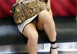 電車内のエロい光景
